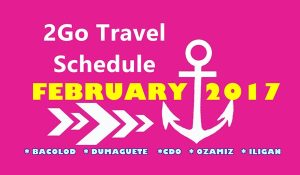 2Go Travel February 2017