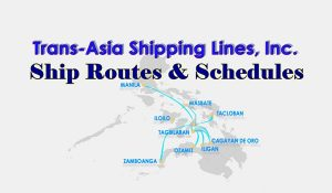 Trans Asia Schedules