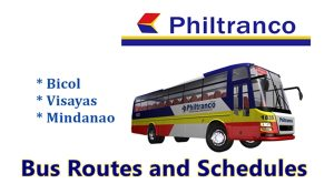 Philtranco Bus Schedule