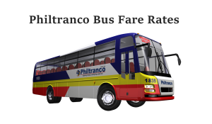 Philtranco bus ticket price
