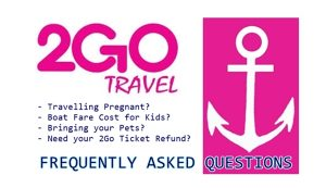 2go Travel Info FAQ