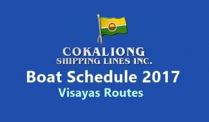 Cokaliong fare and schedule
