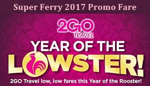 2go travel promo 2017