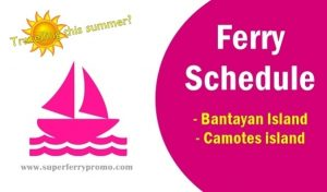 boat schedule for bantayan and camotes