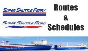 super shuttle roro ferry schedules