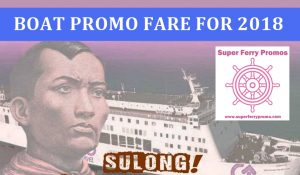 2GO TRAVEL FERRY TICKET PROMO 2018