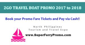 super ferry 2go promo ticket rates for 2017 to 2018