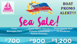 philippine travel mart 2go superferry promo sale