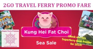 2GO PROMO FARE 2019 BOAT SALE TICKET PRICE